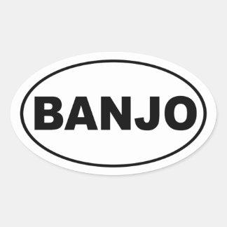 Pegatina para el parachoques del banjo