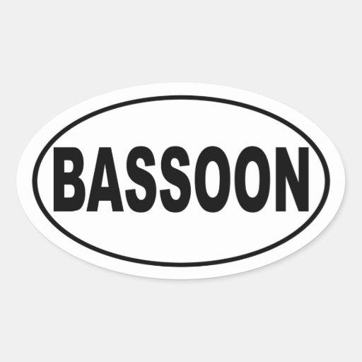 Pegatina para el parachoques del Bassoon