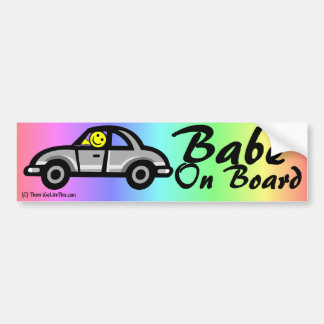 Pegatina para el parachoques del bebé a bordo pegatina para auto