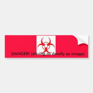 Pegatina para el parachoques del Biohazard Pegatina Para Auto