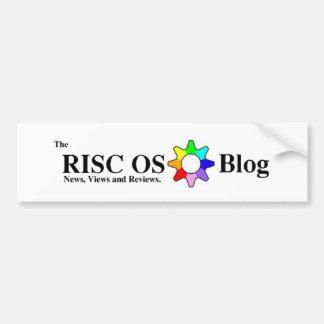 Pegatina para el parachoques del blog del OS del R Pegatina Para Auto