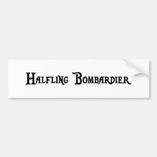 Pegatina para el parachoques del bombardero de Hal Etiqueta De Parachoque