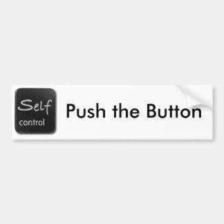 Pegatina para el parachoques del botón del autodom pegatina para auto