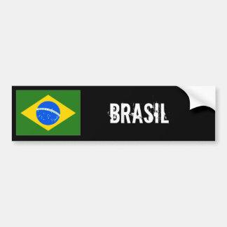 Pegatina para el parachoques del Brasil Pegatina Para Auto