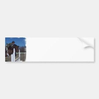 Pegatina para el parachoques del caballo del puent etiqueta de parachoque