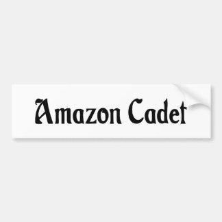 Pegatina para el parachoques del cadete del Amazon Etiqueta De Parachoque