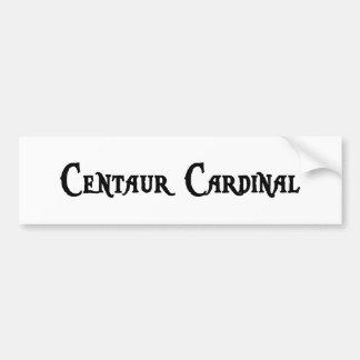 Pegatina para el parachoques del cardenal del Cent Etiqueta De Parachoque