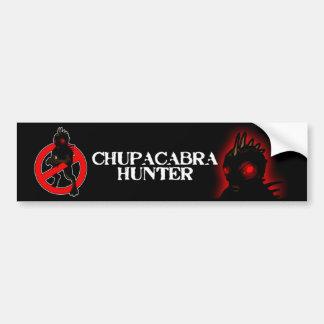 Pegatina para el parachoques del CAZADOR del CHUPA Pegatina De Parachoque