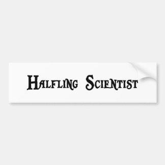 Pegatina para el parachoques del científico de Hal Pegatina De Parachoque