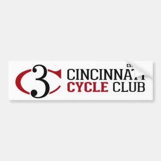 Pegatina para el parachoques del club del ciclo de etiqueta de parachoque