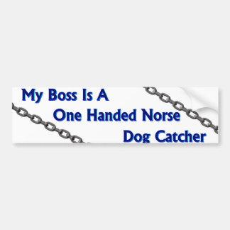 Pegatina para el parachoques del colector de perro pegatina para auto