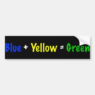 Pegatina para el parachoques del color pegatina para auto