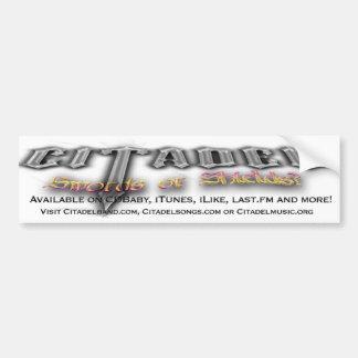 Pegatina para el parachoques del ® de la ciudadela pegatina de parachoque