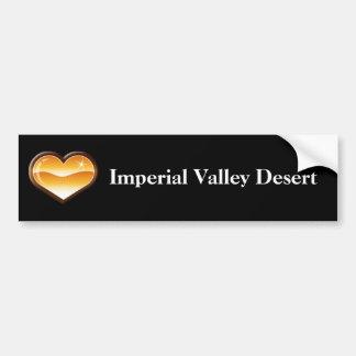 Pegatina para el parachoques del desierto de Imper Pegatina Para Auto