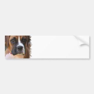 Pegatina para el parachoques del diseño del perro  pegatina para auto