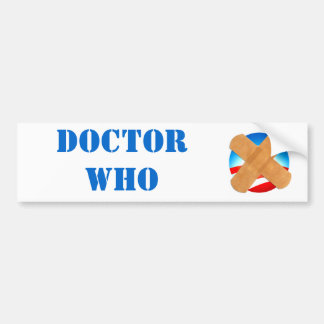 Pegatina para el parachoques del DOCTOR WHO Pegatina Para Auto