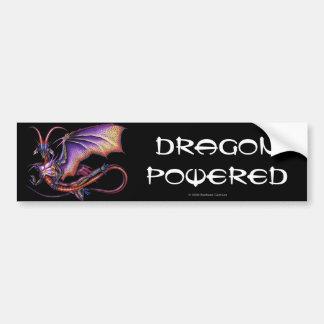 Pegatina para el parachoques del dragón del monarc etiqueta de parachoque