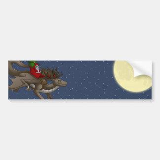 Pegatina para el parachoques del dragón del navida pegatina de parachoque
