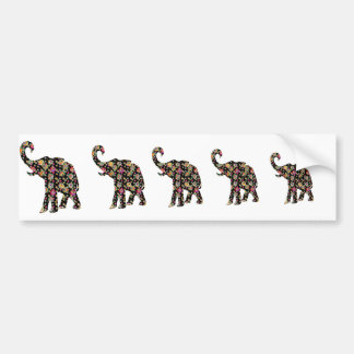 Pegatina para el parachoques del elefante del Hipp Pegatina Para Auto