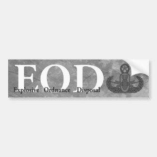 Pegatina para el parachoques del EOD Pegatina Para Auto