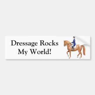 Pegatina para el parachoques del Equestrian del Dr Pegatina Para Auto