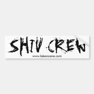 Pegatina para el parachoques del equipo de Shiv Pegatina Para Auto