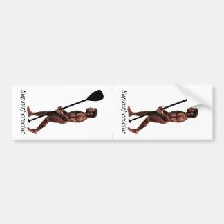 Pegatina para el parachoques del erectus de Supsur Etiqueta De Parachoque
