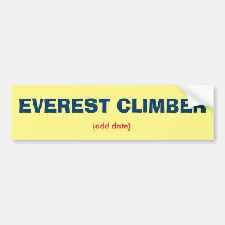 Pegatina para el parachoques del escalador de pegatina para auto
