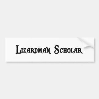 Pegatina para el parachoques del escolar de Lizard Pegatina De Parachoque