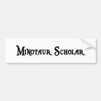 Pegatina para el parachoques del escolar de Minota Etiqueta De Parachoque