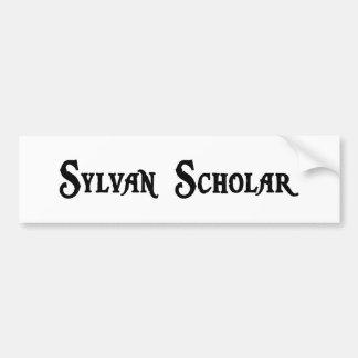 Pegatina para el parachoques del escolar de Sylvan Etiqueta De Parachoque