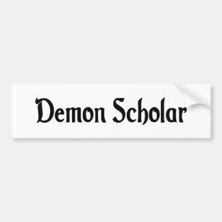 Pegatina para el parachoques del escolar del demon pegatina de parachoque
