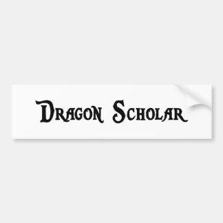 Pegatina para el parachoques del escolar del dragó etiqueta de parachoque