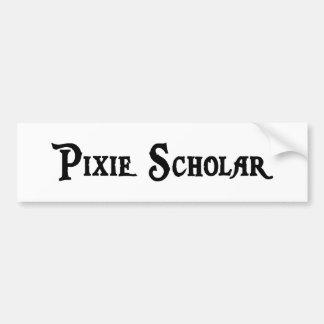 Pegatina para el parachoques del escolar del duend etiqueta de parachoque