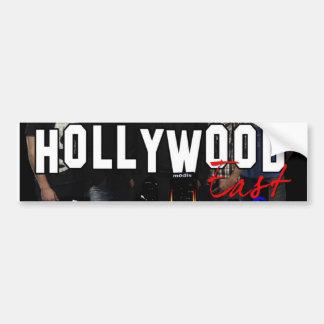Pegatina para el parachoques del este de Hollywood Pegatina Para Auto