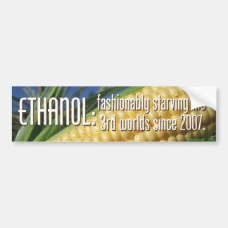 Pegatina para el parachoques del etanol pegatina para auto