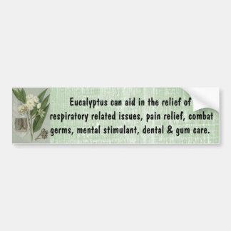 Pegatina para el parachoques del eucalipto pegatina para auto