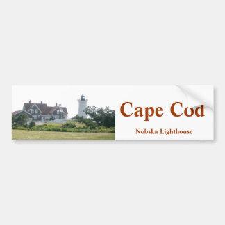 Pegatina para el parachoques del faro de Cape Cod  Pegatina De Parachoque