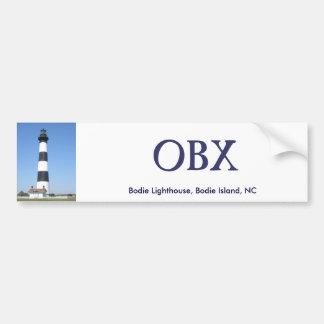 Pegatina para el parachoques del faro OBX de Bodie Pegatina Para Auto