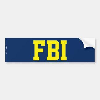 Pegatina para el parachoques del FBI Pegatina Para Auto