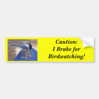 Pegatina para el parachoques del freno de Birdwatc Pegatina Para Auto