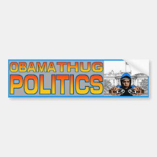 Pegatina para el parachoques del gamberro de Obama Etiqueta De Parachoque