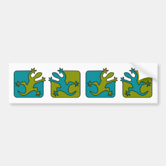 Pegatina para el parachoques del Gecko/del lagarto Pegatina Para Auto