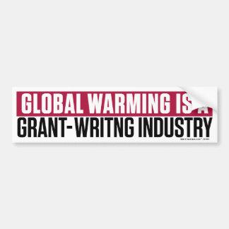 Pegatina para el parachoques del Grant-Writing del Etiqueta De Parachoque