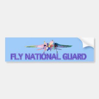 Pegatina para el parachoques del Guardia Nacional  Etiqueta De Parachoque