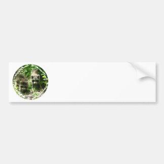 Pegatina para el parachoques del hábitat del mapac pegatina de parachoque