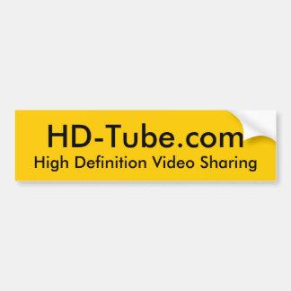 Pegatina para el parachoques del HD-Tubo - modific Pegatina De Parachoque