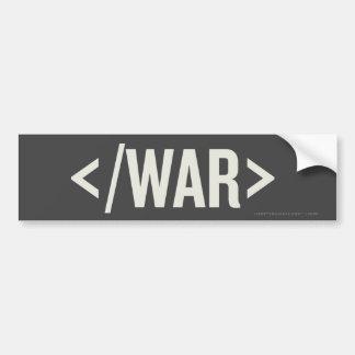 Pegatina para el parachoques del HTML de la etique Pegatina Para Auto