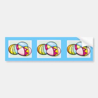 Pegatina para el parachoques del huevo de Pascua Pegatina De Parachoque