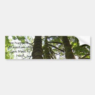 Pegatina para el parachoques del hugger del árbol  pegatina de parachoque